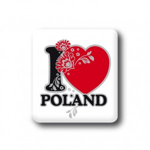 "MAGNES ""I LOVE POLAND"""